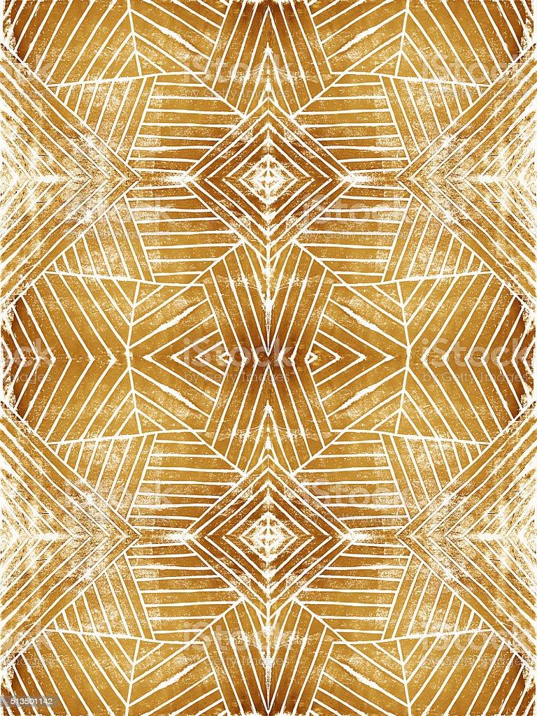 リノリウム ハンドカット 幾何学模様ストライプの背景パターン