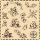 Antique nautical illustration