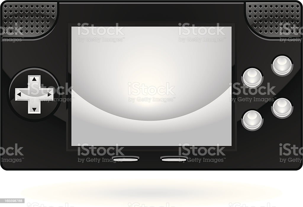 handheld game royalty-free handheld game stock vector art & more images of copy space