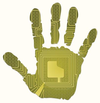 RFID handprint