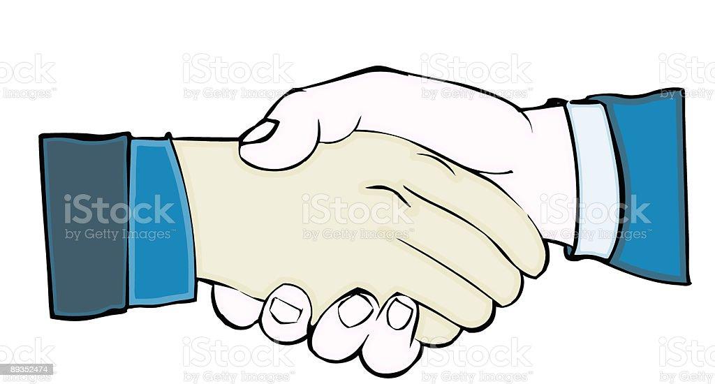 Handshake cartoon royalty-free handshake cartoon stock vector art & more images of adult