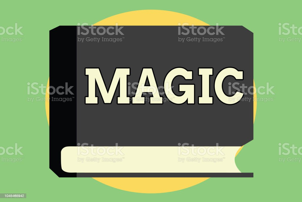 Handwriting Text Magic Concept Meaning Power Of Influencing