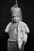 istock Hans Joachim von Zieten, Prussian cavalry general under Frederick the Great, bust 1301211135