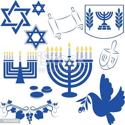 istock Hanukkah symbol 164545597