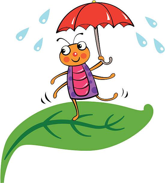 Royalty Free Dancing Rain Cartoons Clip Art, Vector Images ...