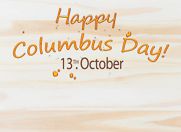 happy columbus day illustration background - columbus day 幅插畫檔、美工圖案、卡通及圖標