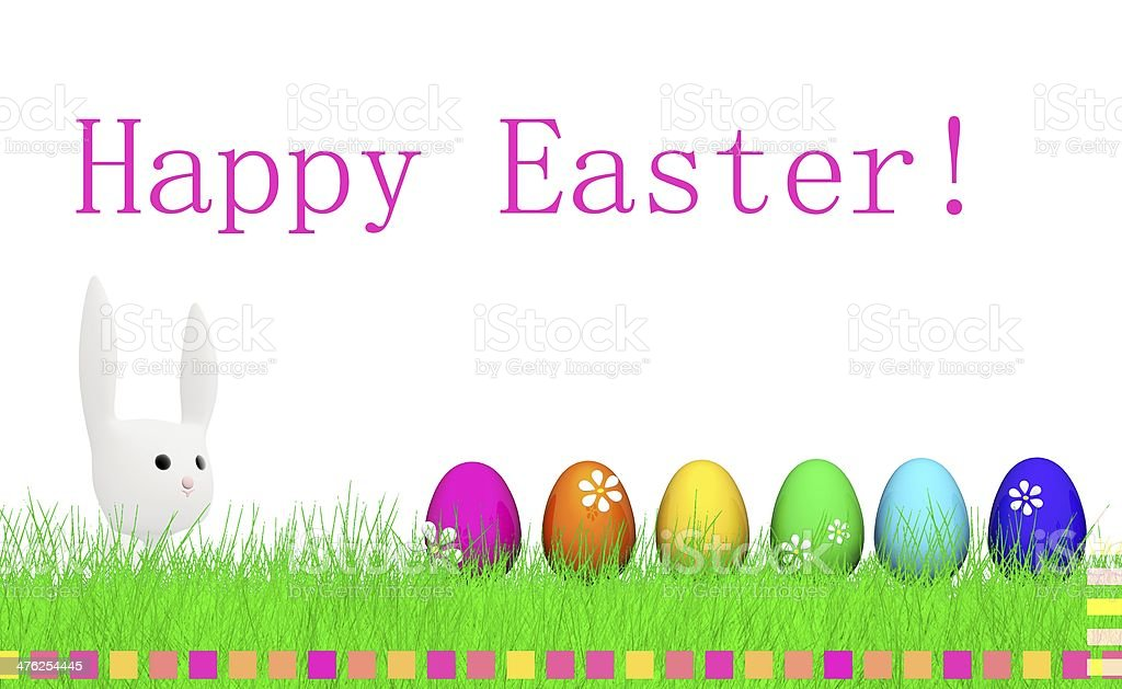 Happy Easter royalty-free happy easter stock vector art & more images of animal