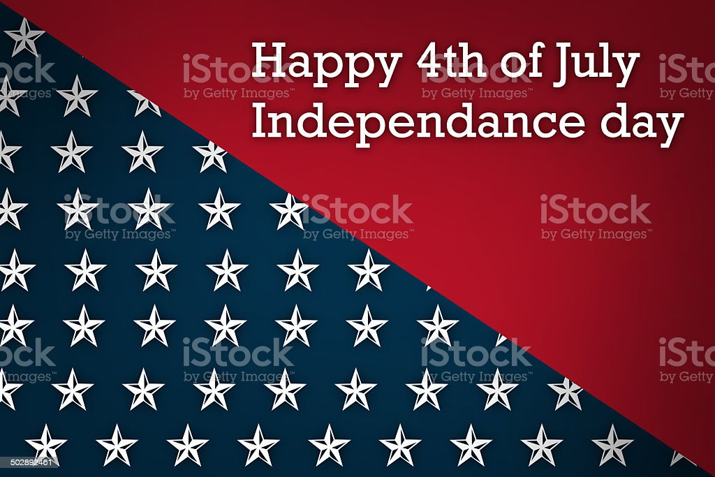 Happy Independence Day royalty-free stock vector art
