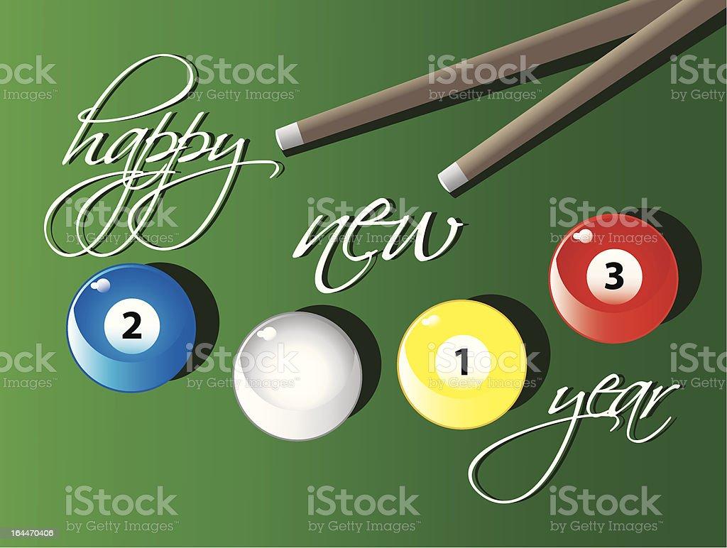 happy new year 2013 royalty-free stock vector art