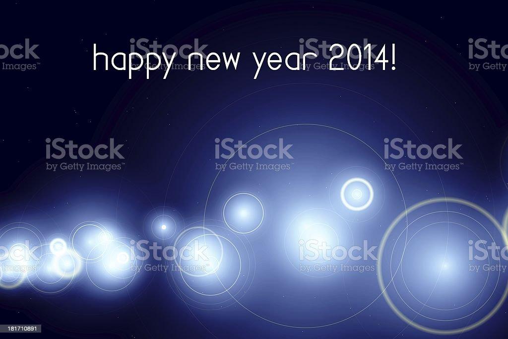 happy new year 2014 royalty-free stock vector art