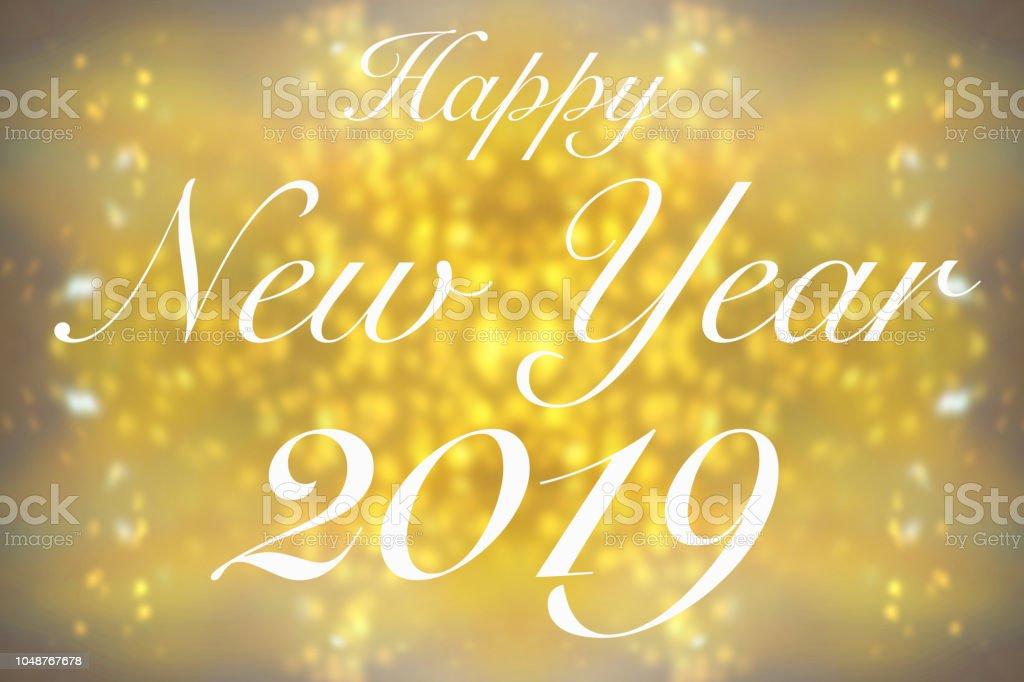 Glückliches neues jahr 2019