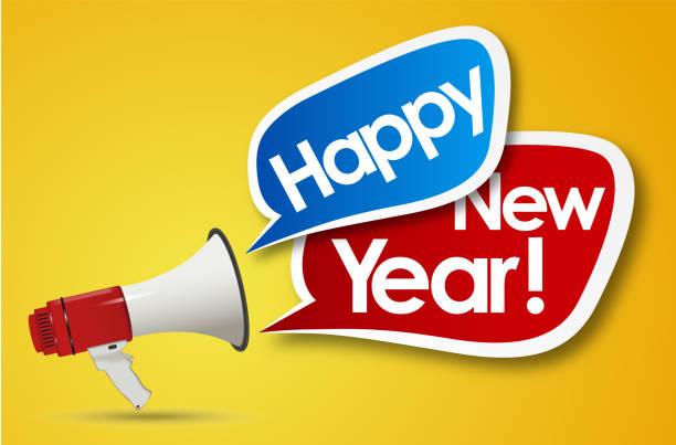 Frohes neues Jahr – Vektorgrafik