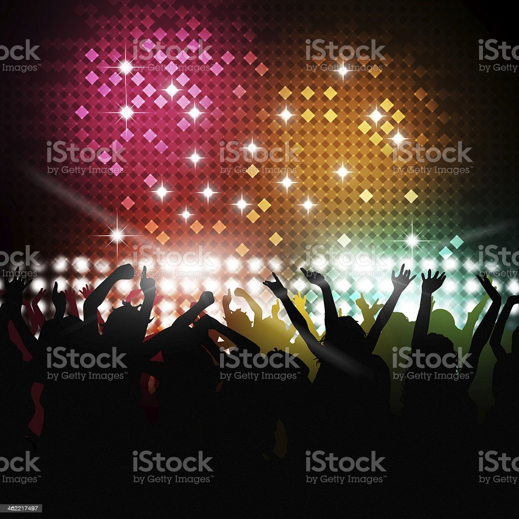 Happy Party Time vector art illustration