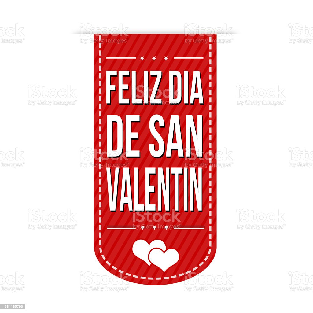 Happy Valentines Day Banner Design Stock Vector Art More Images Of