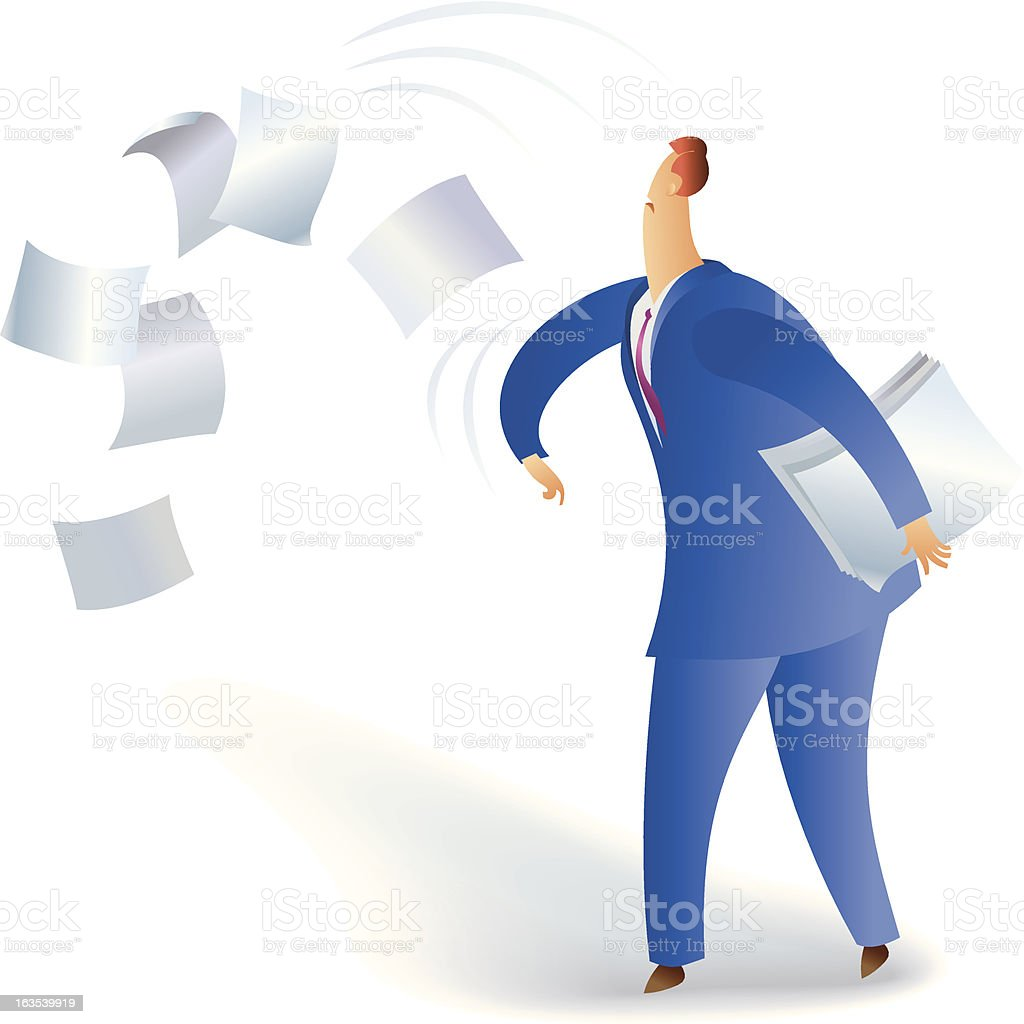 I hate paperwork ! royalty-free i hate paperwork stock vector art & more images of adult