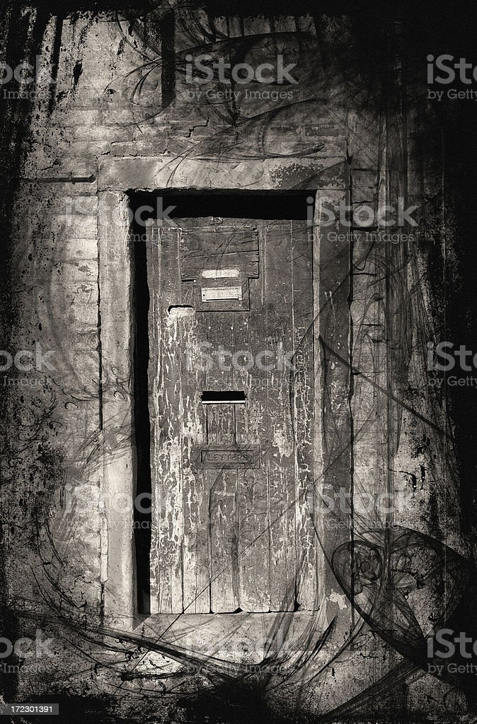 Haunted doorway royalty-free haunted doorway stock vector art & more images of ancient