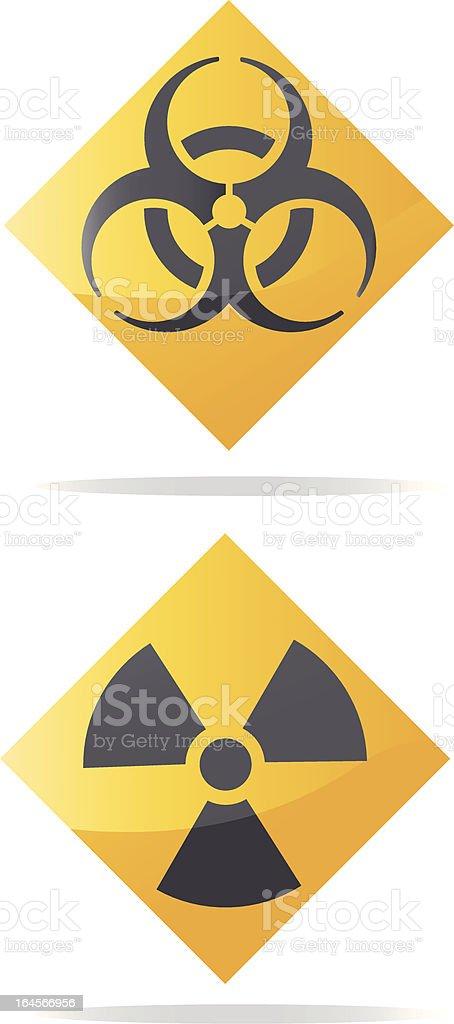 Hazardous Materials Symbols Stock Vector Art More Images Of Cut