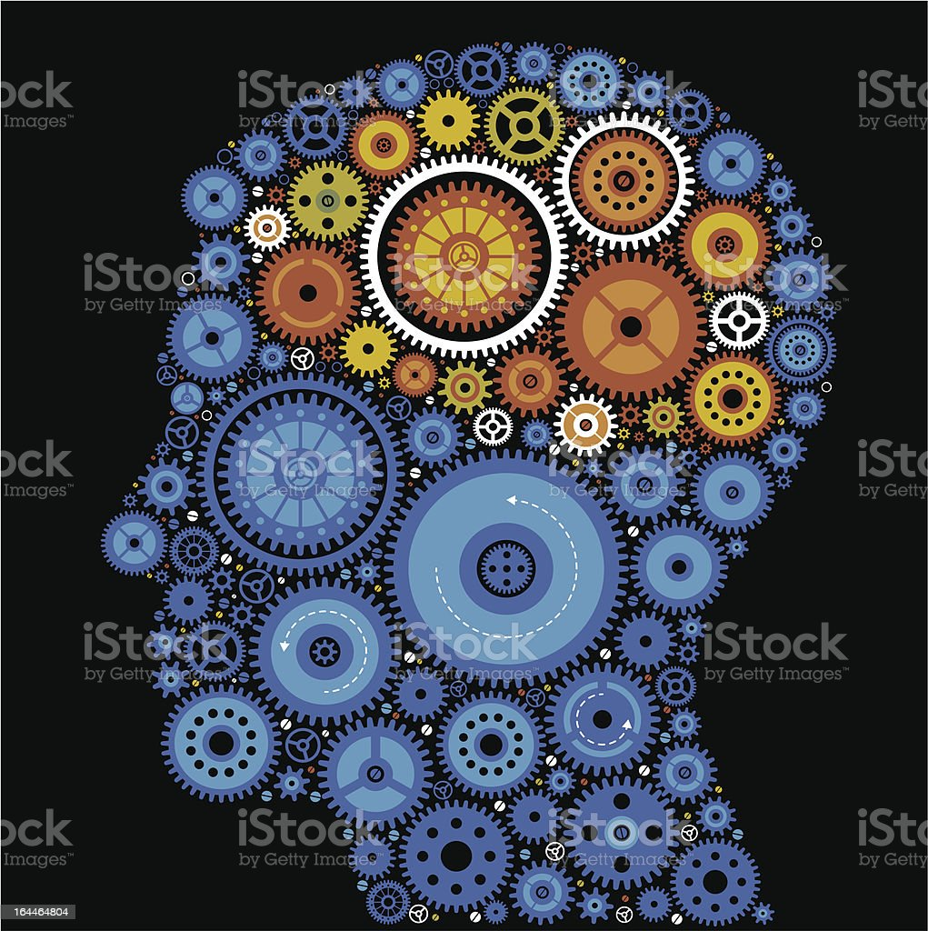 head gears royalty-free stock vector art