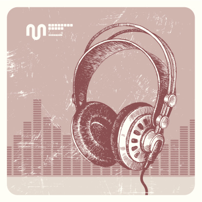 Headphones Stock Illustration - Download Image Now
