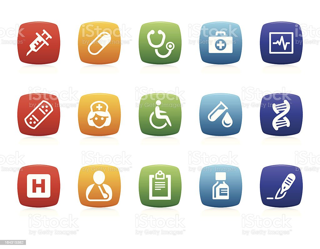Healthcare and Medicine icons royalty-free healthcare and medicine icons stock vector art & more images of adhesive bandage