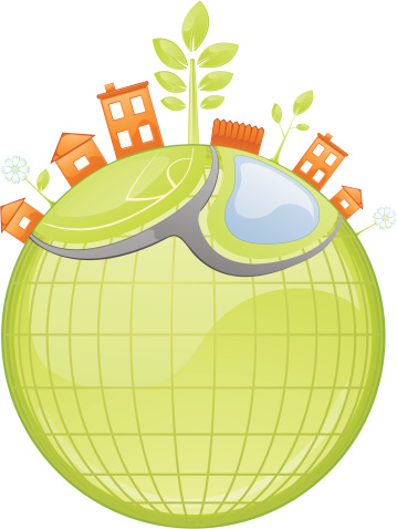 Healthy Community Stock Illustration - Download Image Now