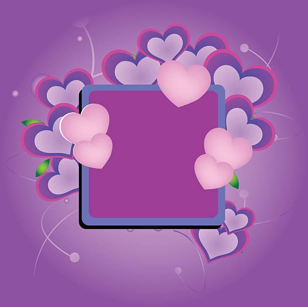 illustrazioni stock, clip art, cartoni animati e icone di tendenza di confine di cuore - love word