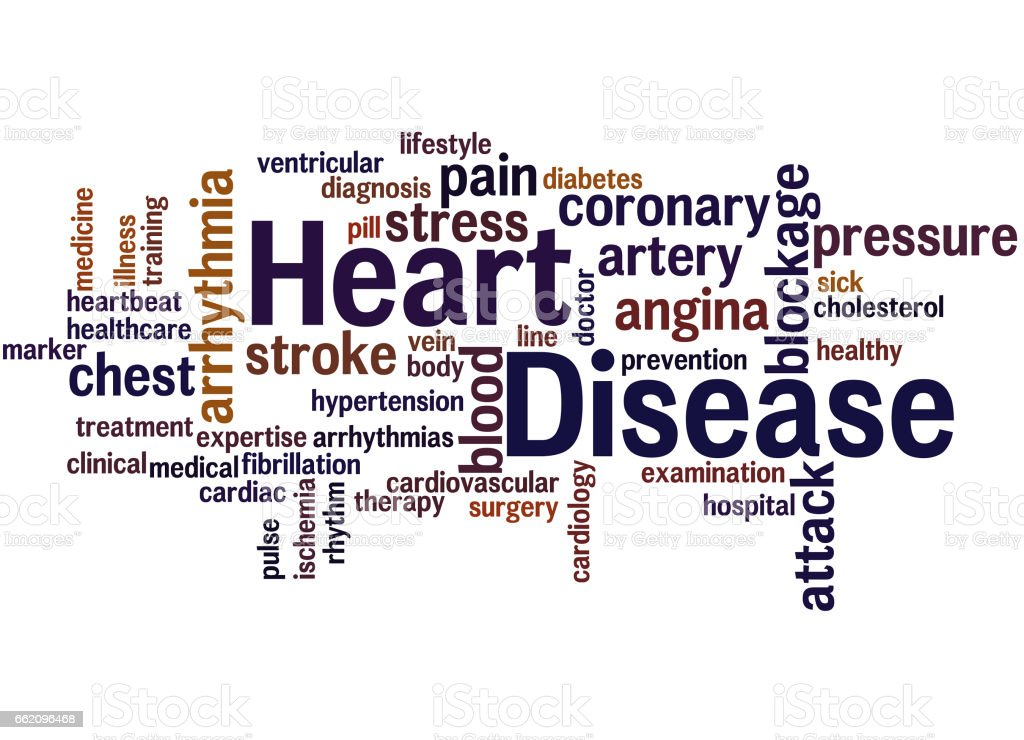 Heart Disease, word cloud concept 8 royalty-free heart disease word cloud concept 8 stock vector art & more images of artery