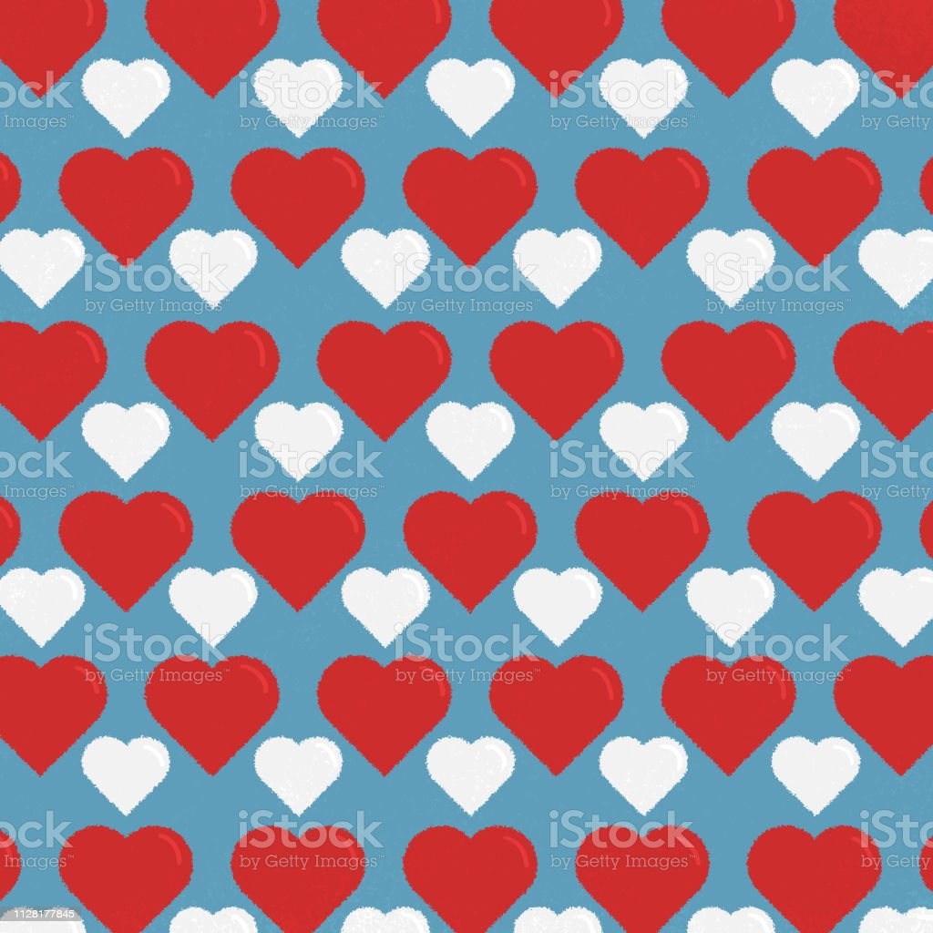 Heart Figures Background Wallpaper Valentines Day Concept