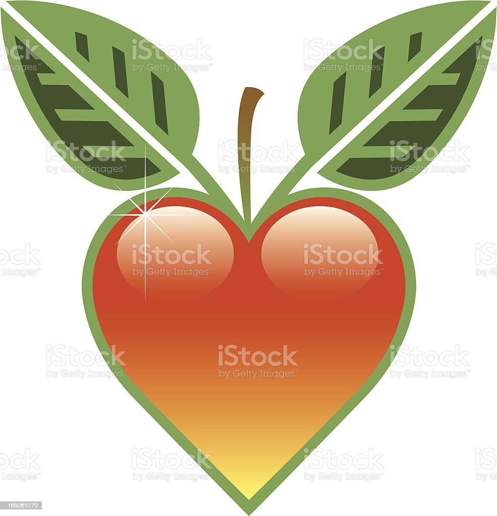 Heart fruit royalty-free heart fruit stock vector art & more images of concepts