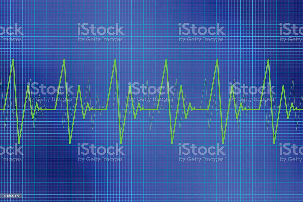 Heart Monitor royalty-free stock vector art