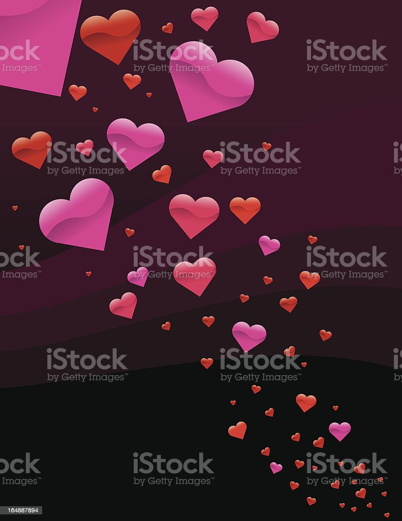 Heart Pattern royalty-free stock vector art