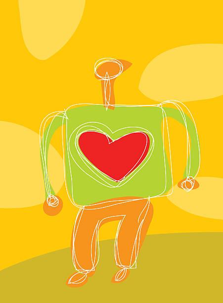 heart person vektorkonstillustration