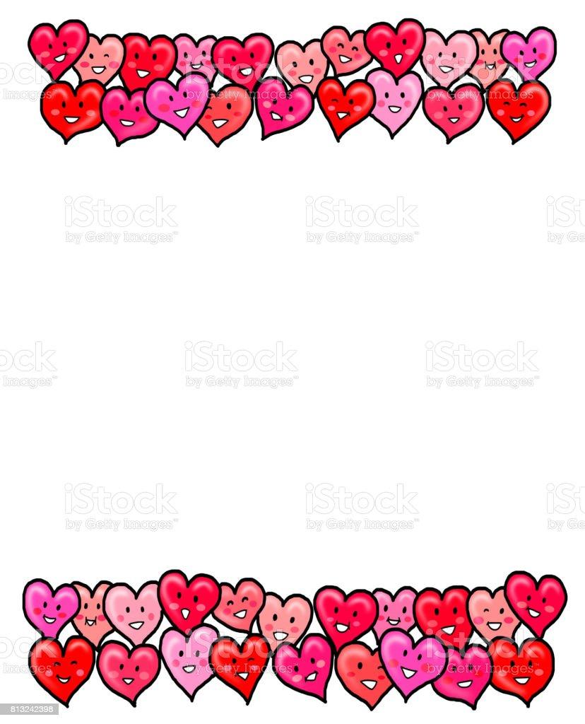 心愛バレンタイン テンプレート デザイン i love youのベクターアート
