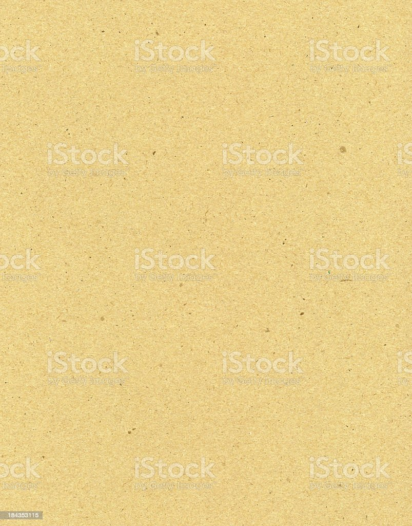 Heavy weight brown paper vector art illustration