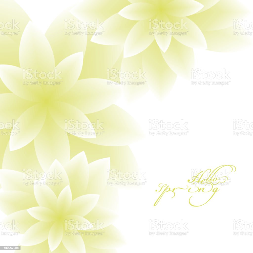 Hello Spring royalty-free hello spring stock vector art & more images of abstract