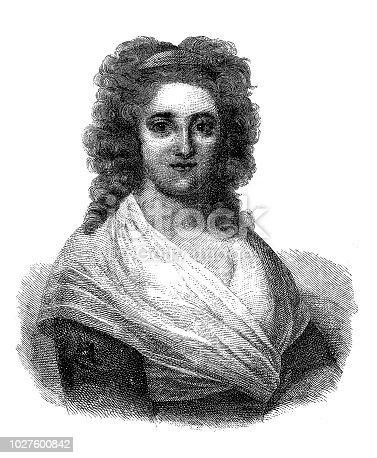 istock Henriette Herz (1764-1847), German writer 1027600842