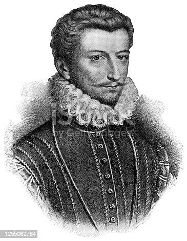 istock Henry I, Duke of Guise - 16th Century 1255062784
