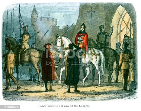 istock Henry marches out against the Lollards 154966690