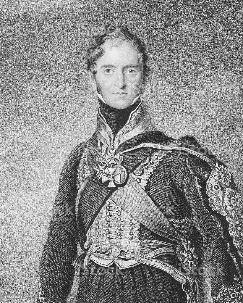 Henry Paget, 1st Marquess of Anglesey vector art illustration