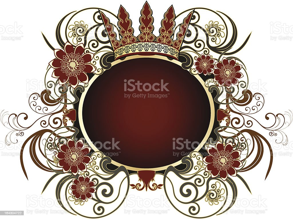 Heraldic sign royalty-free stock vector art