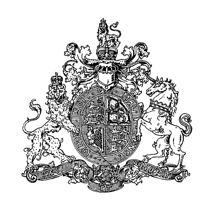 Heraldry, coat of arms Great Britain and Ireland