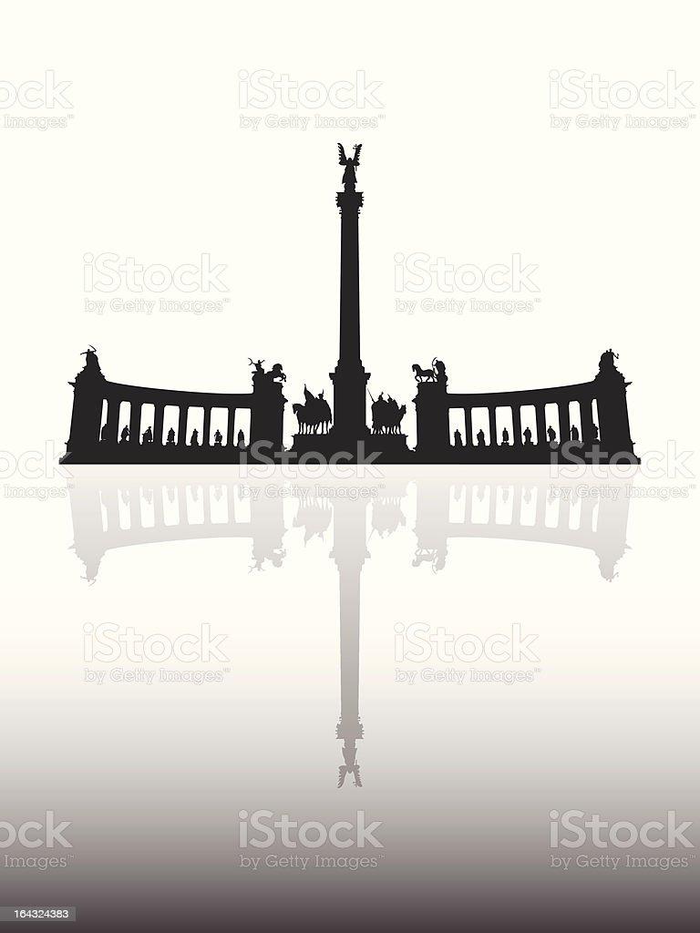 Heldenplatz – Vektorgrafik