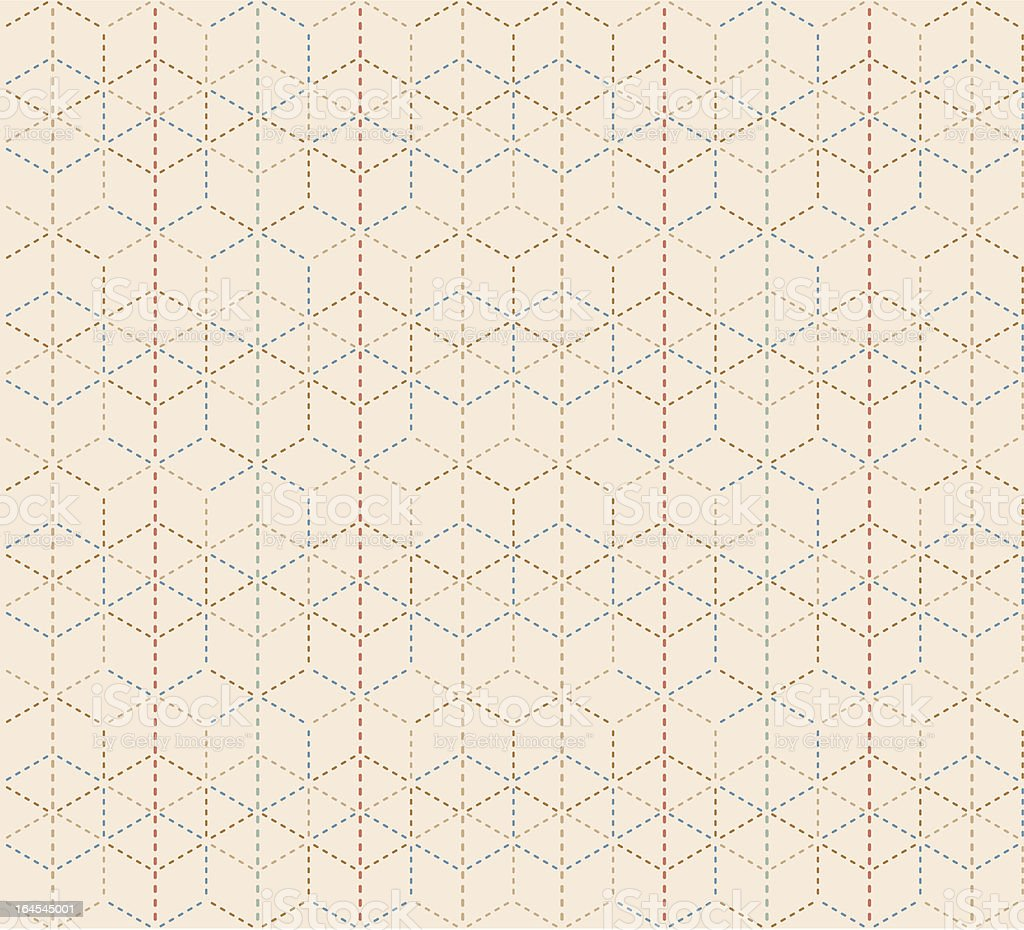 Hexadot Pattern (Seamless) royalty-free hexadot pattern stock vector art & more images of backgrounds