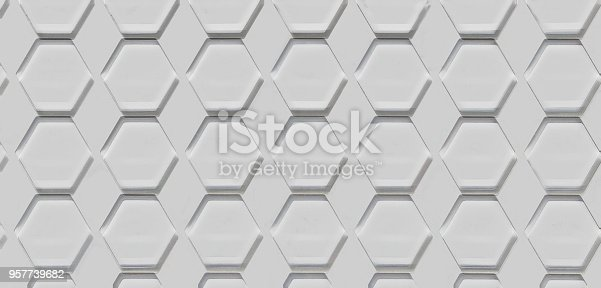 istock Hexagon Cell Background 957739682