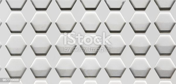 istock Hexagon Cell Background 957739688