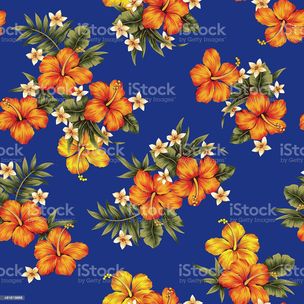 Hibiscus flower pattern stock vector art more images of 2015 hibiscus flower pattern royalty free hibiscus flower pattern stock vector art amp more images izmirmasajfo Gallery