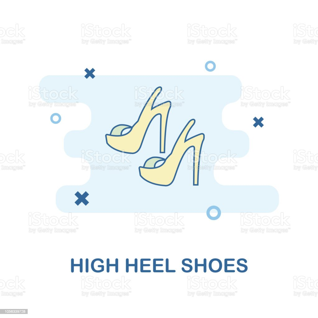 97be99961b495 Monochrome style design from clothes icon collection. UI and UX. Pixel  perfect high heel shoes icon. For web design, apps, software, print usage.