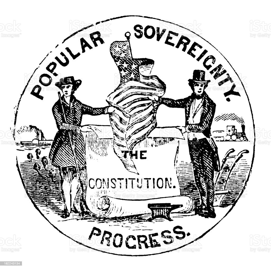 High Resolution Old State Seal of Nebraska royalty-free stock vector art