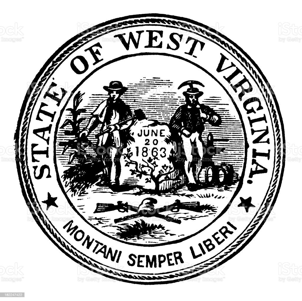 virginia state symbols coloring pages - virginia united symbol home rva united