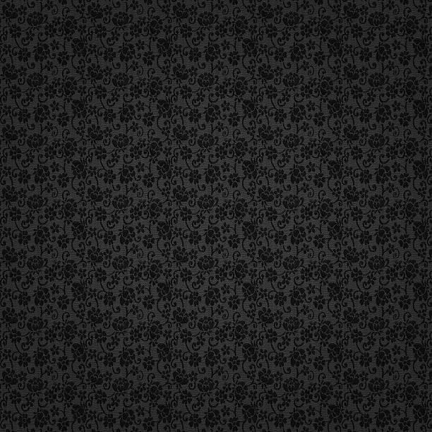 High Resolution Patterned Wallpaper Textile Vector Art Illustration